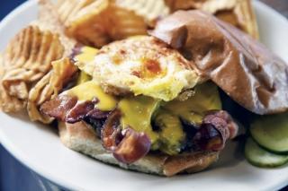 Diamond's Breakfast Burger
