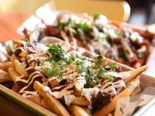 El Taco Luchador's Mole Fries