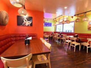 El Taco Luchador's Rear Dining Room
