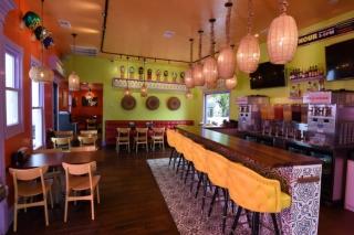 El Taco Luchador's Main Dining Room