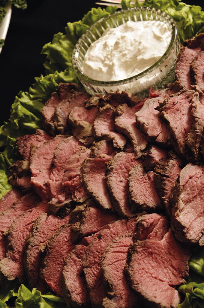 Tenderloin of Beef with Bourbon Au Jus