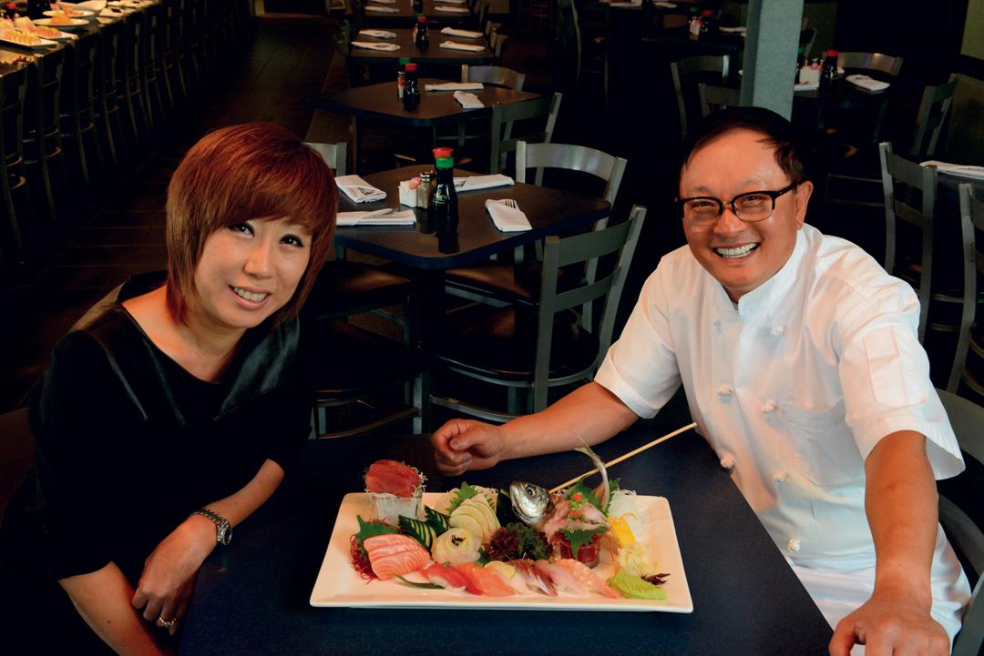 Sapporo proprietors Mi Kim (left) and U Kim.