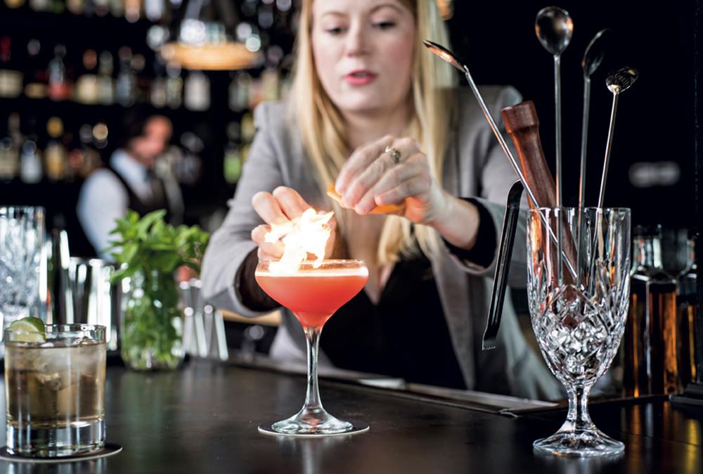 Beverage Director Marie Zahn