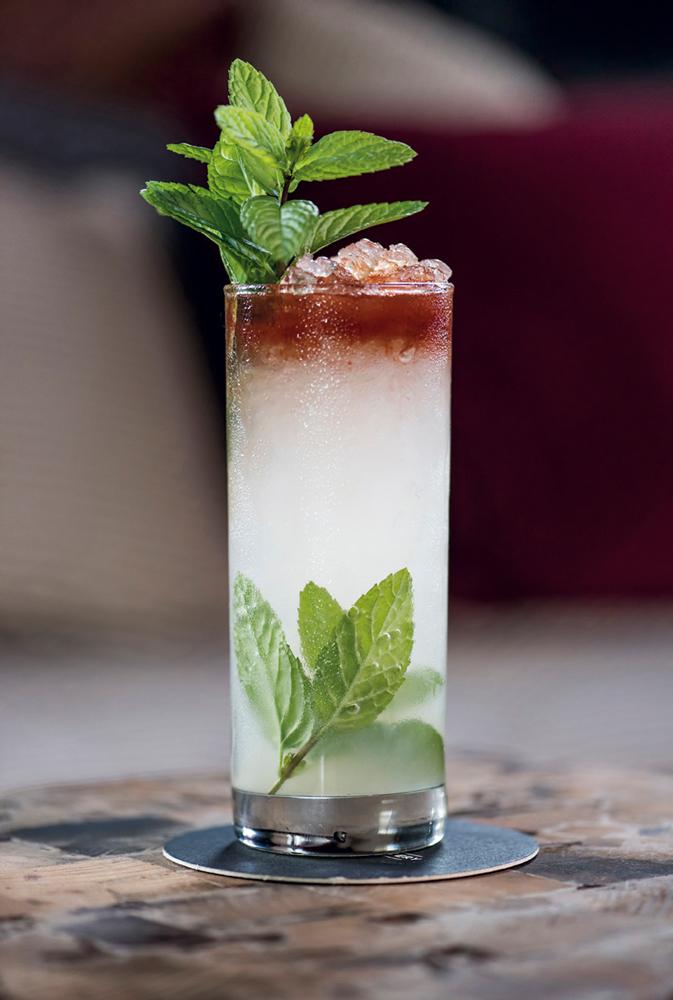 """Little Joe from Kokomo"" cocktail"