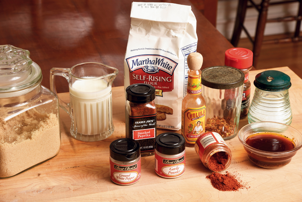 Cooking with Ron— Nashville Hot Chicken Ingredients