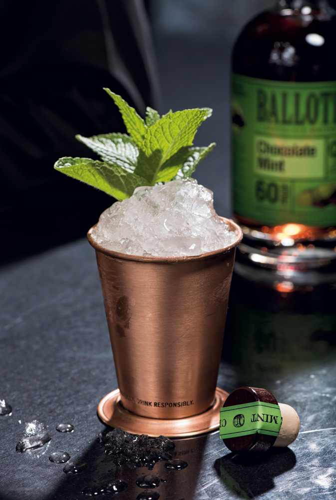Ballotin Chocolate Whiskey — Doublemint