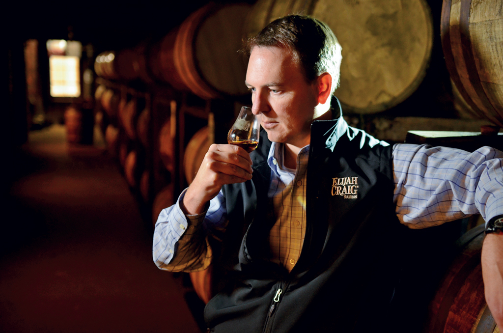 Denny Potter, current co-master distiller and Heaven Hill