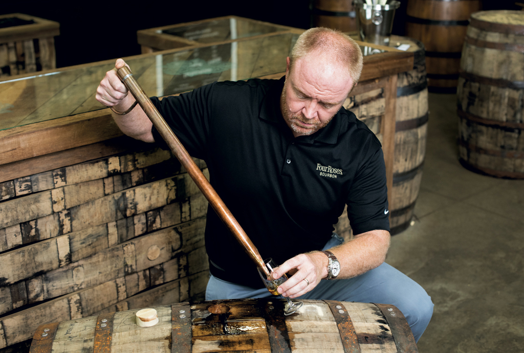 Brent Elliott, master distiller for Four Roses