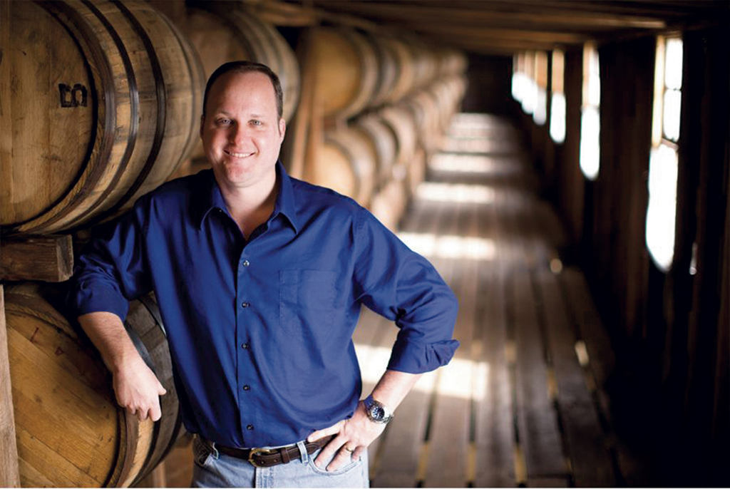 "Maker's Mark Master Distiller Greg Davis has been in the industry for 26 years (16 years as master distiller), but his relatively short tenure earned him a playful nickname from another industry veteran: ""The Baby"""