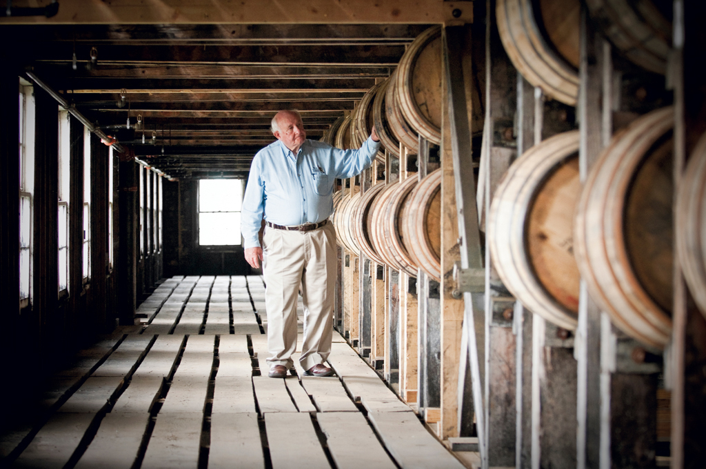 For more than 62 years Master Distiller Jimmy Russell has been employed at Wild Turkey.