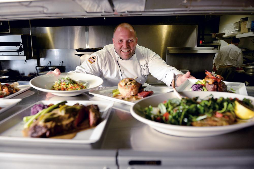 Chef Josh Moore of Volare