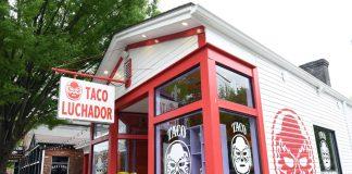 El Taco Luchador's Exterior