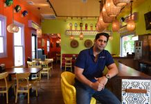 Fernando Martinez, owner Ole Restaurant Group and El Taco Luchador