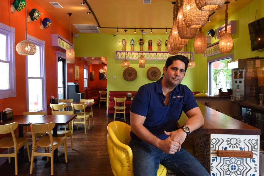 Fernando Martinez, owner Ole Restaurant Group and El Taco Luchador